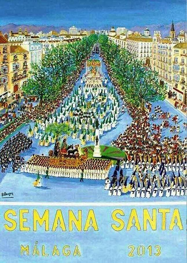 Cartel semana santa 2013
