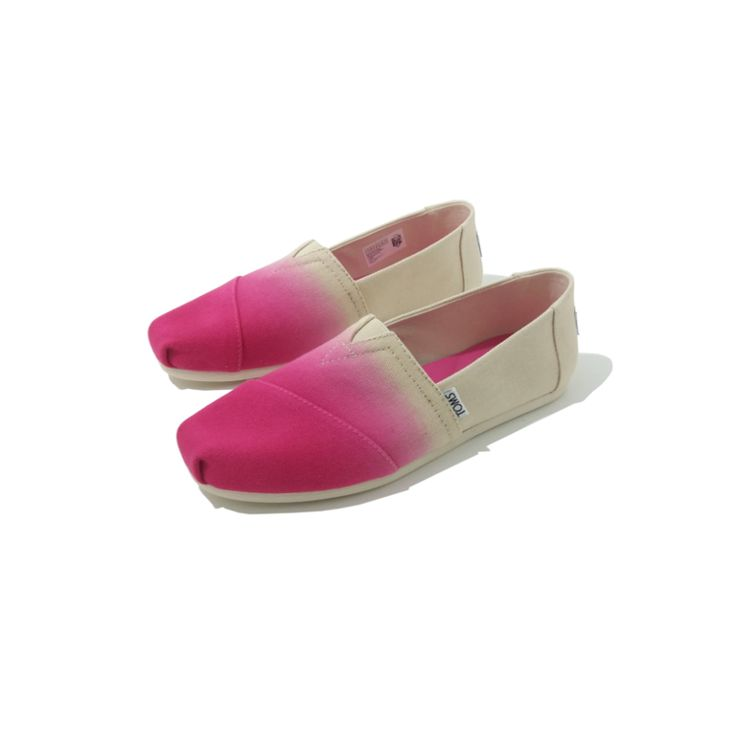 Chaussures TOMS Classics Femme Tie Dye Pink