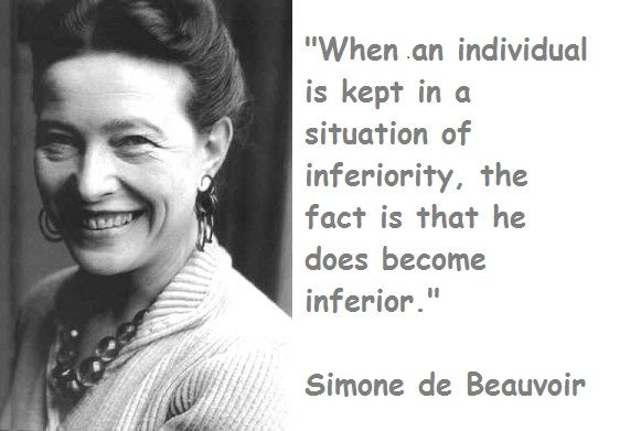 Simone de Beauvoir (1908—1986)