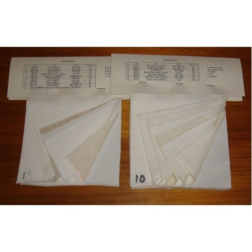 Click to see more details on Bamboo Fabric Sample Pack (18 Fabrics)
