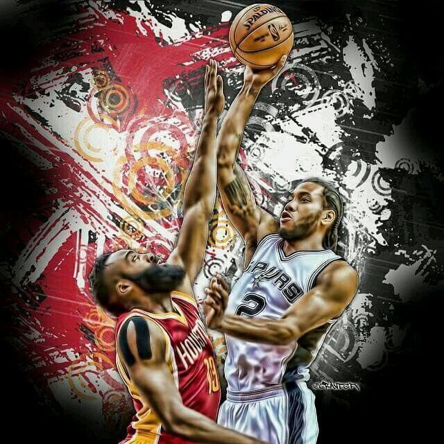 Spurs vs Rockets. Kawhi Leonard. Go Spurs Go
