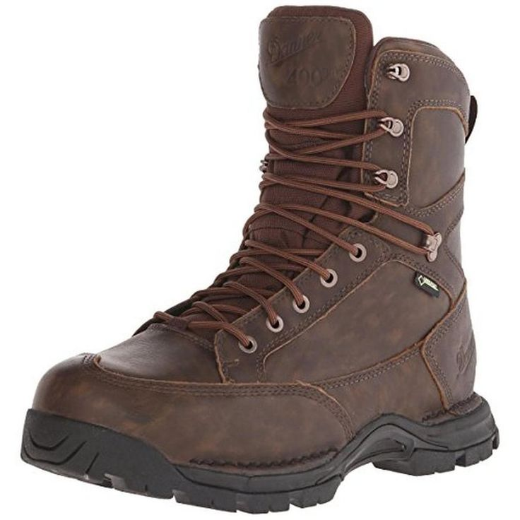Danner 9803 Mens Brown Leather Hunting Boots Shoes 11 Extra Wide (E+, WW) BHFO #Danner #HuntingBoots