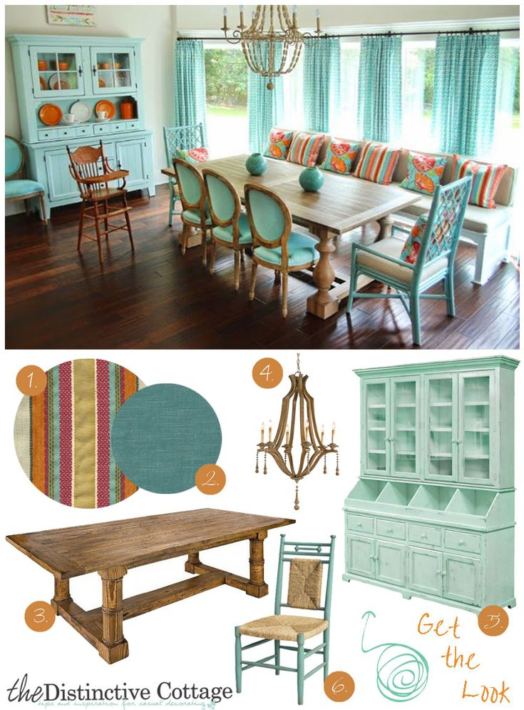 Vibrant Dining Room