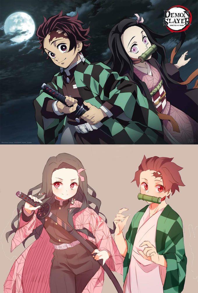 Role Swap in 2020 Anime demon, Slayer anime, Demon