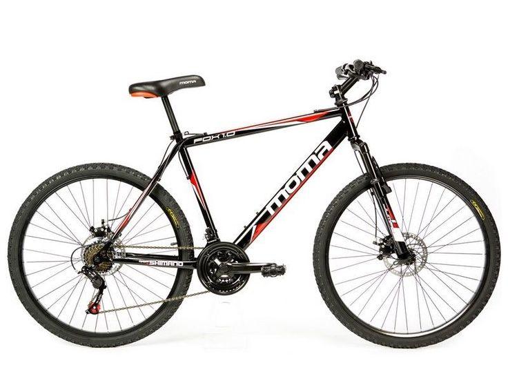 Bicicleta Montaña Mountainbike BTT 26  SHIMANO, DOBLE DISCO y SUSPENSIÓN