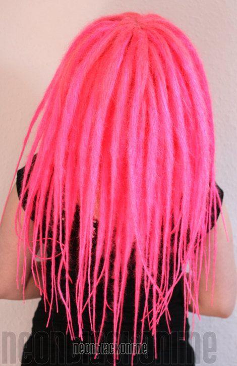 Custom dread wig long synthetic dreadlock wig by NeonBlackOnline