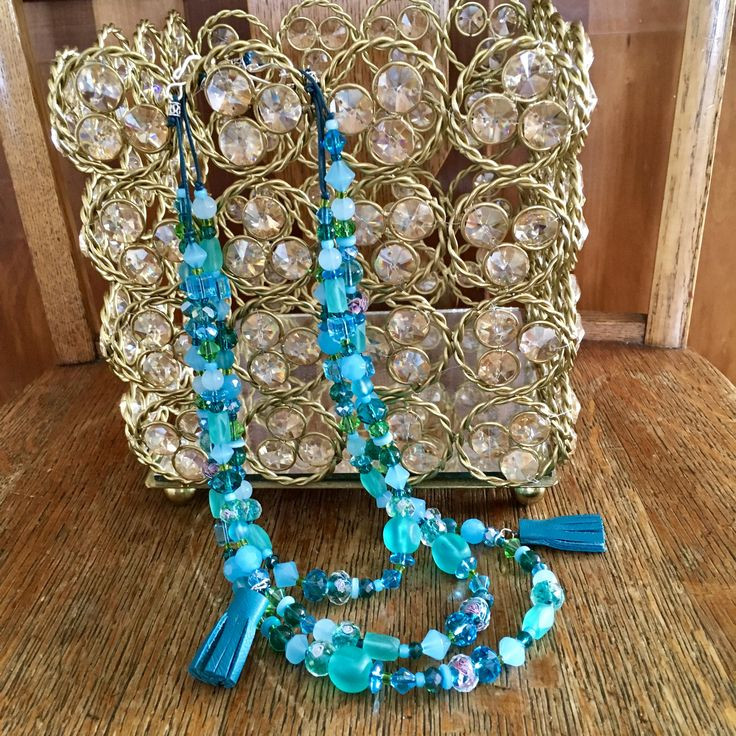 "Boho Bling Turquoise Jewelry in my Etsy Shop""SkyPathDesign """