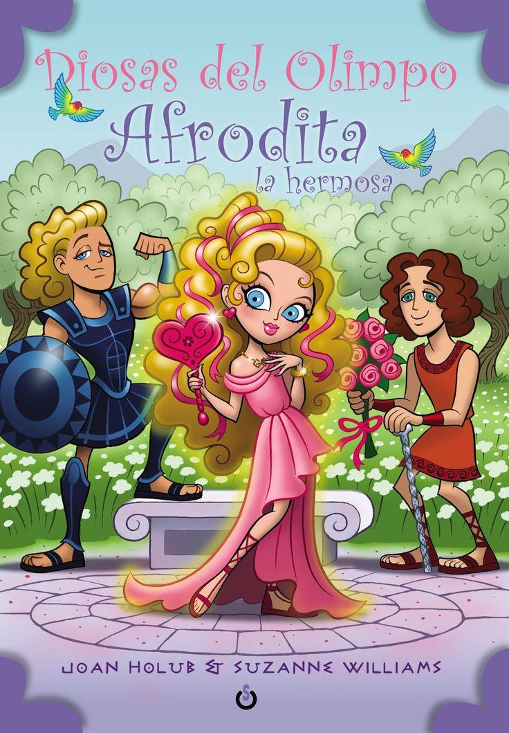 Diosas del Olimpo Afrodita la hermosa by paginasdechocolate