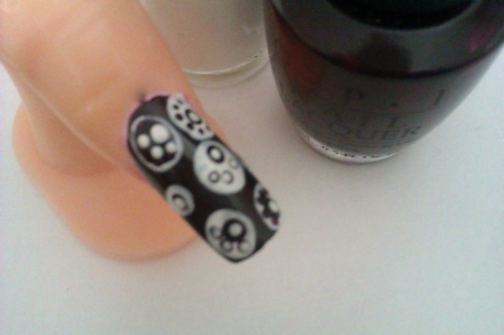 Easy Nail Polish Designs: A DIY Nail Art Designs Tutorial for a Paws-and-Polka-Dots Manicure