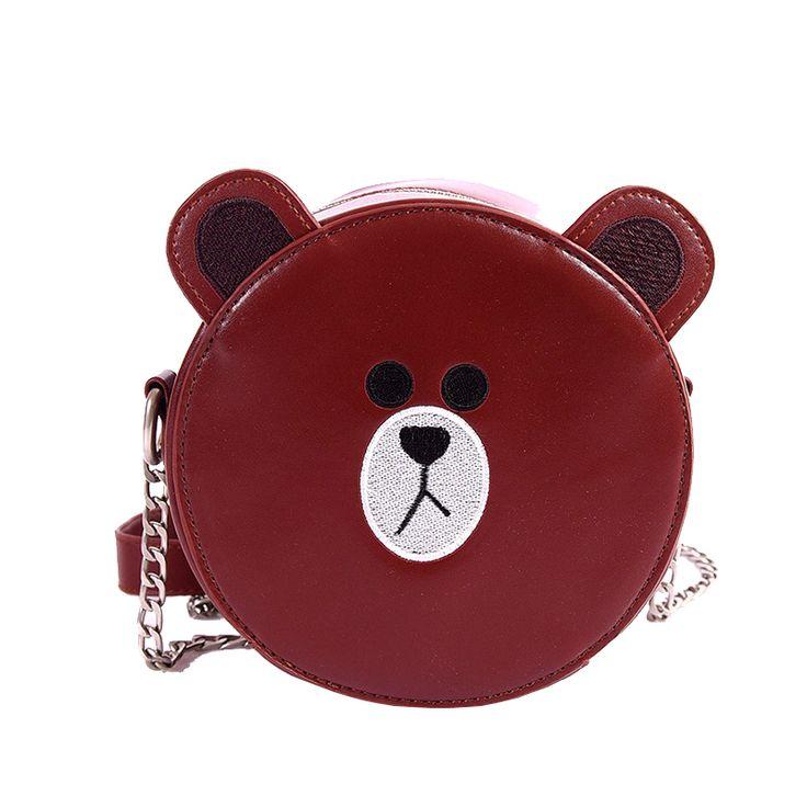 Bolsa Divertida em Forma de Urso e Coelho Bolsas Divertidas