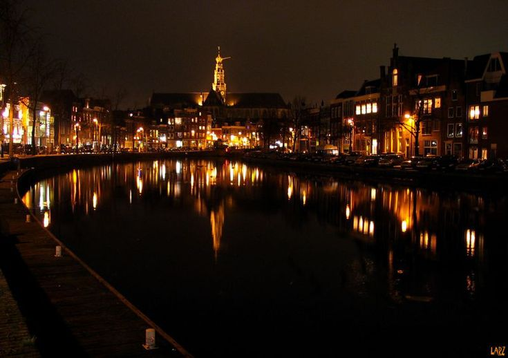 Haarlem, .....  on my way home. Beautiful