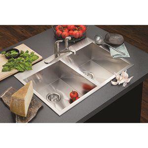 Kindred Drop In Undermount Kitchen Sink In 2020 Sink