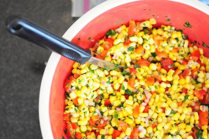 the driveway of Life: Cilantro Corn Salad {Gluten Free}