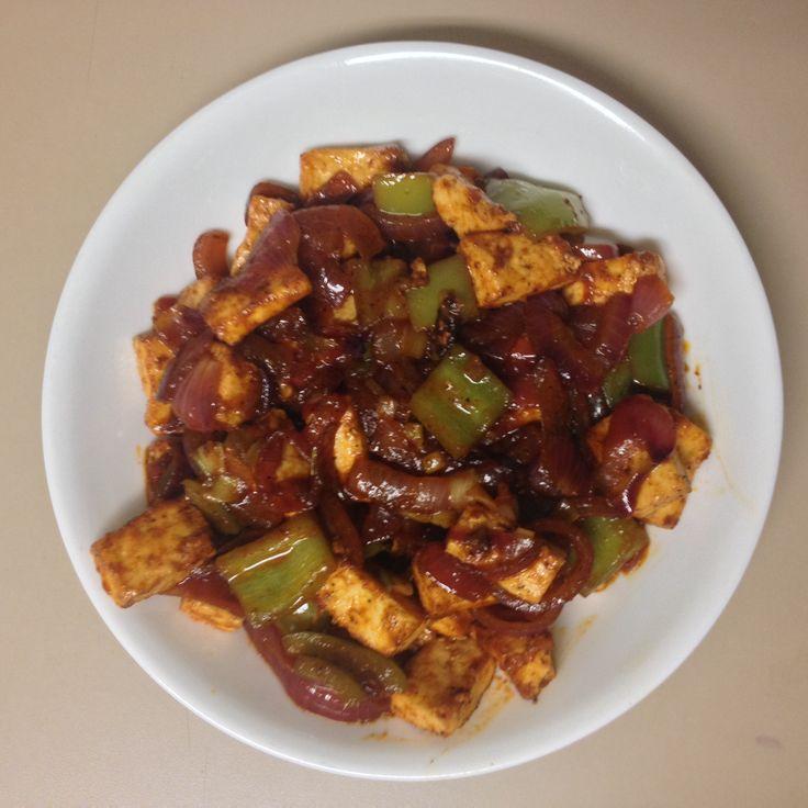 Kadai Paneer - Indo-Chinese version