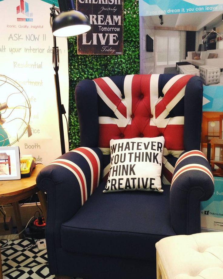 Union Jack Single Sofa. Made by Dokma Living.  Dokma Living Iconic, Quality, Insightful