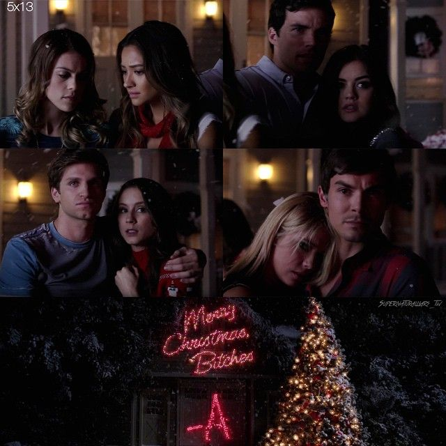 Lindsey Shaw(Paige McCullers) and Shay Mitchell(Emily Fields), Ian Harding(Ezra Fitz) and Lucy Hale(Aria Montgomery), Keegan Allen(Toby Cavanaugh) and Troian Bellisario(Spencer Hastings), and Tyler Blackburn(Caleb Rivers) and Ashley Benson(Hanna Marin) - Pretty Little Liars #PLL