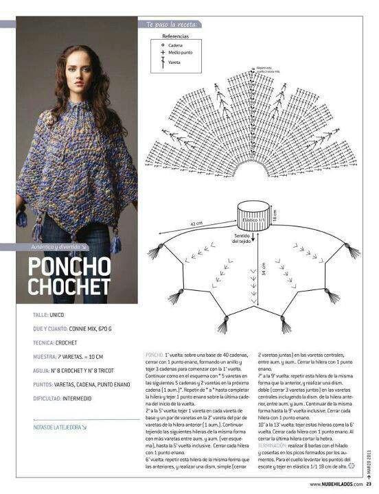 Poncho Haken met Diagram