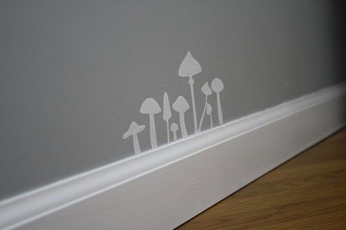 Remember this when painting livingroom's walls