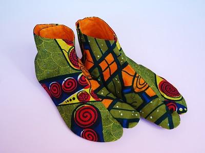 アフリカンTABI(レディス) African TABI(for women)