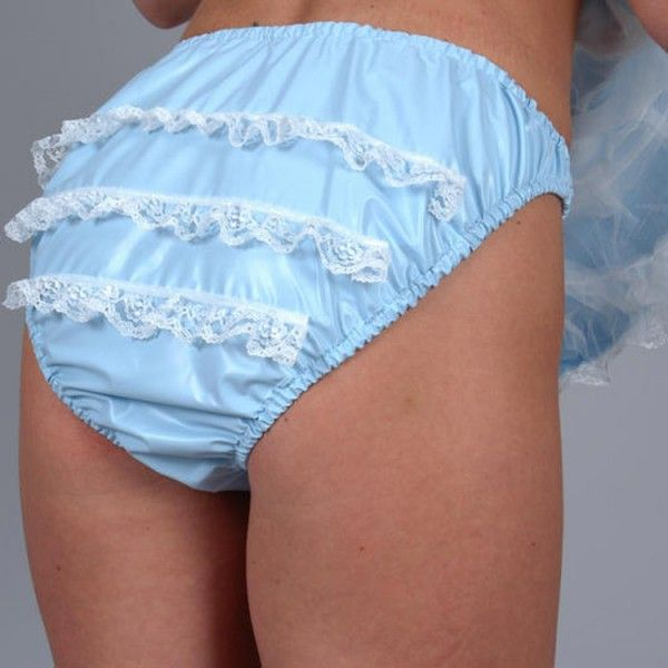 Adult Baby Frilly Pants These Are My Rubbers I Were In The