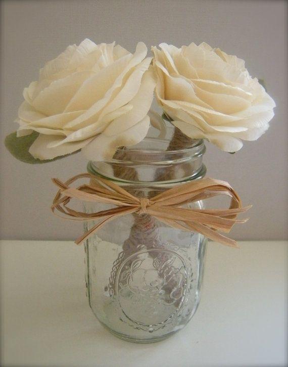 rustic guest book ideas   Flower pens for guest book   rustic wedding/reception ideas