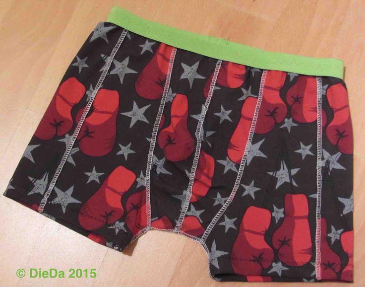 Boxer shorts slip für Jungen Boys (SchniMu Peters Hugo http://allerleikind.blogspot.de/2014/02/heute-gibts-ein-freebook-tutorial.html, Beine verkürzt)