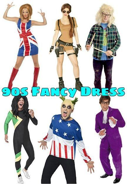 90s Fancy Dress Ideas | SimplyEighties.com