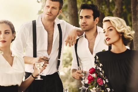 Kuzey Güney cast, Vogue TR.