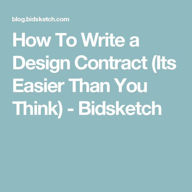 The  Best Web Design Contract Ideas On   Contract
