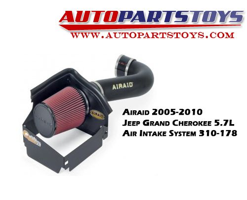 The best in the market with great price-  Airaid 2005-2010 Jeep Grand Cherokee 5.7L Air Intake System 310-178
