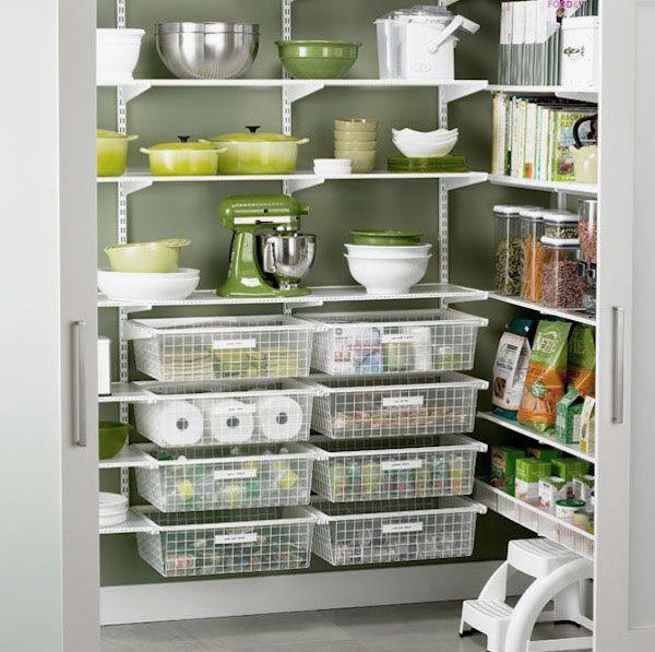 47 Cool Kitchen Pantry Design Ideas: Kitchen Pantry With Hidden Storage Cool Kitchen Pantry