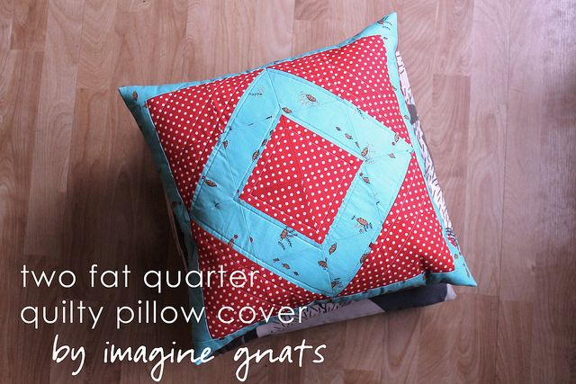 Quilting Patterns For Pillow Covers : 12 best images about home ideas on Pinterest Fat quarters, Crafting and Pillow tutorial