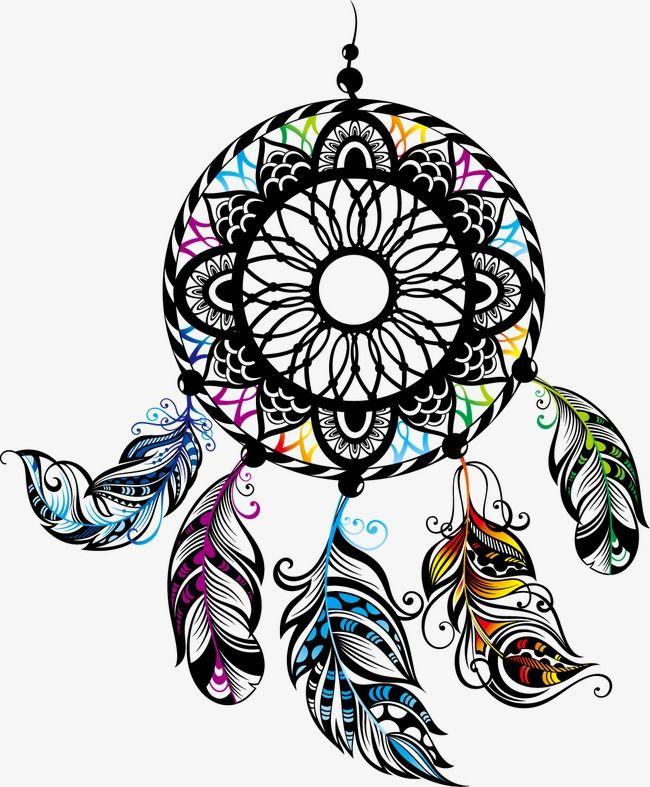 Art Dreamcatcher Dream Catcher Vector Dream Catcher Drawing Indian Dream Catcher