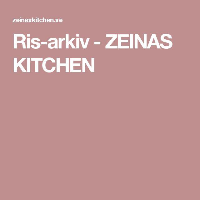Ris-arkiv - ZEINAS KITCHEN