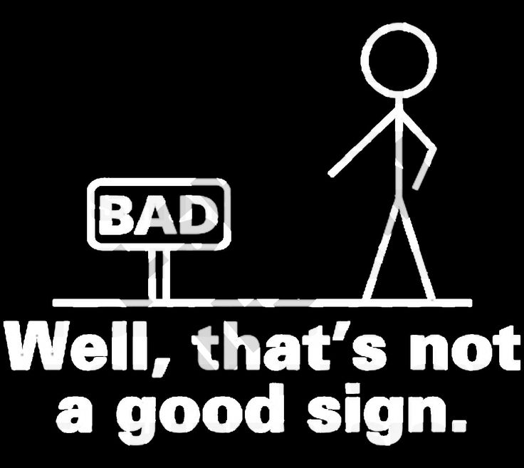 Thats A Bad Sign T-shirt design - PNG and PSD files by TshirtsAndDesign on Etsy