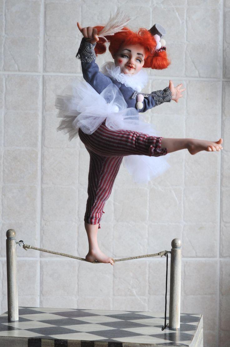 Circus 2017 avtomaton by Irina Shubina and Yuri Sharov