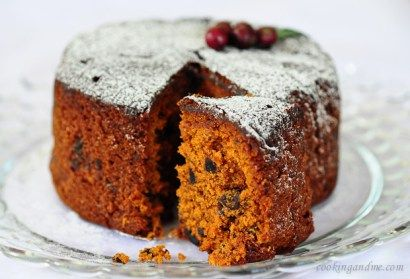 Kerala Plum Cake or Christmas Fruit Cake Recipe - a delicious and easy step by step recipe for fruit cake or Kerala plum cake recipe.