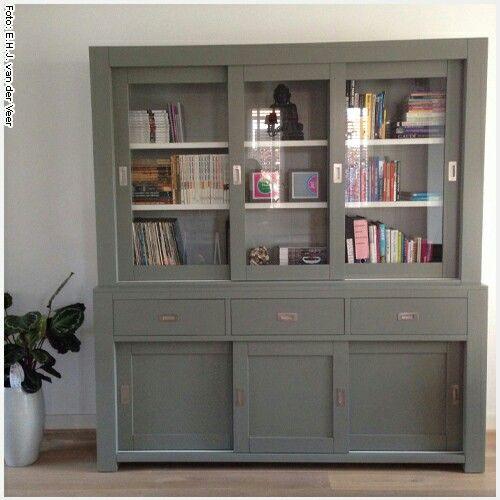 17 beste idee n over servieskast decoratie op pinterest servieskast makeover beschilderd - Decoratie kamer slapen schilderij ...