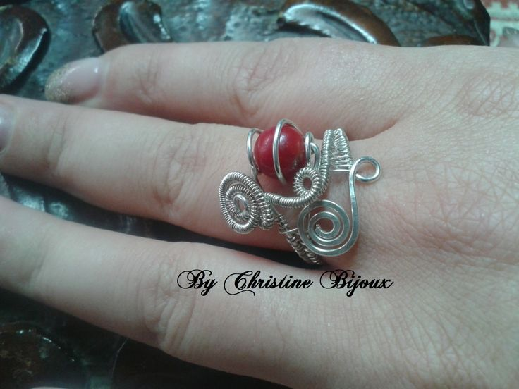 Coral Bead & Sterling Silver