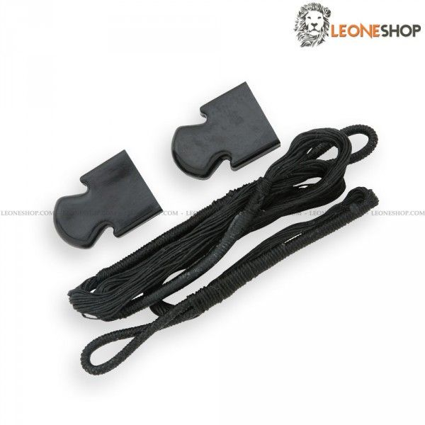 Pistol Crossbow String MAN-KUNG, Crossbows spare parts, slingshots and blowguns - Spare polyester string for pistol crossbow 80 Lbs, for pistol crossbows MAN-KUNG - For items MKE-A3, MKE-A4 and MKE-A4E - Crossbow spare parts, rubber bands for slingshot, darts and strings for crossbow and the whole series of dedicated spares.