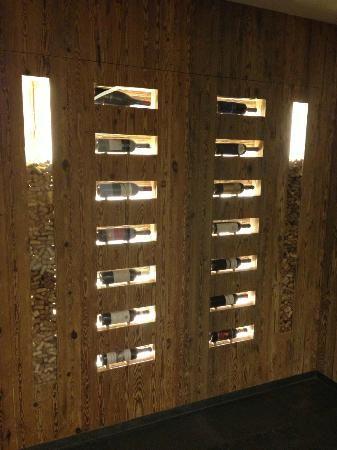 Muro nella Cantina dei vini