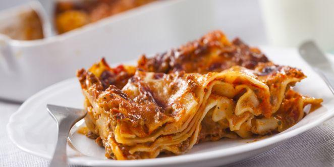 Tämä lasagne saa makua Pecorino-juustosta!