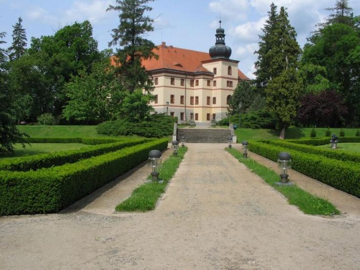 Lnáře - Zámecký park 5