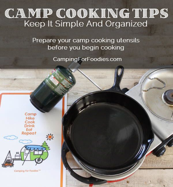Camp Cooking Tips And Tricks