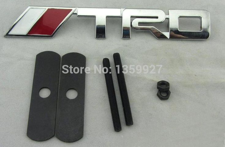 Find More Stickers Information about 3D Car front grille for TRD Metal  Emblem toyota,High Quality car dvd bluetooth gps,China car grille emblem badges Suppliers, Cheap grill sale from PaiKoo Company on Aliexpress.com