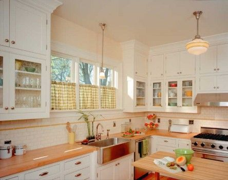 Two Arts & Crafts Kitchens: Bungalow Basic & Adirondack Spirit