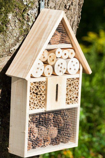die besten 25 insektenhotel bauen ideen auf pinterest. Black Bedroom Furniture Sets. Home Design Ideas