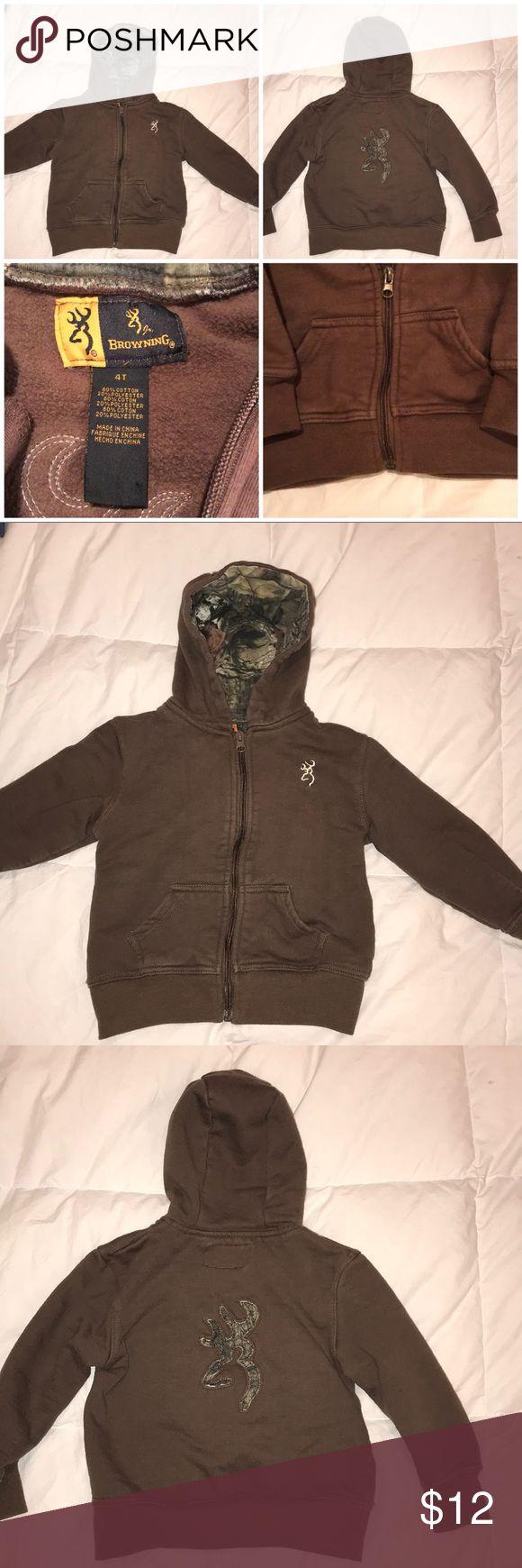 **LIKE NEW** Browning zip up hoodie **LIKE NEW** Browning zip up hoodie Browning Shirts & Tops Sweatshirts & Hoodies