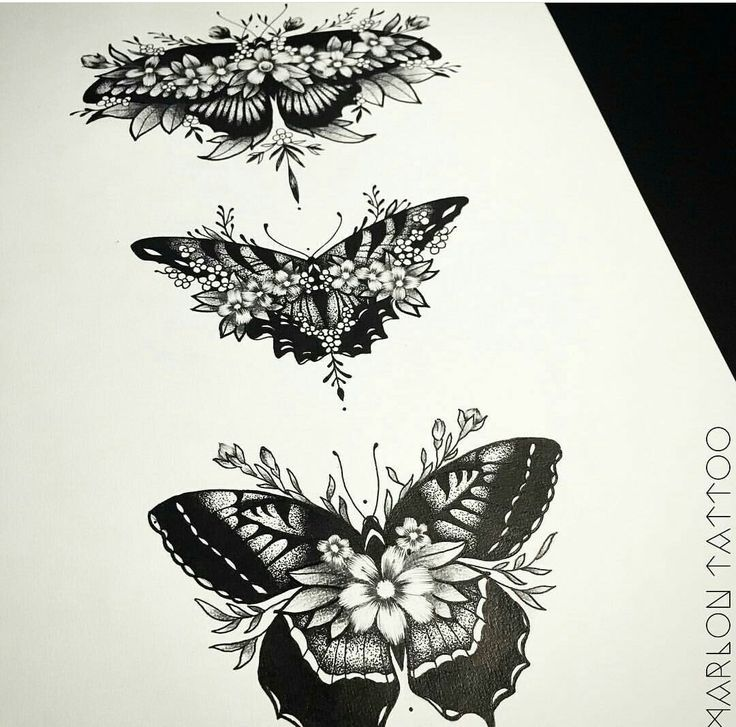 Really like this idea of incorporating the flower within the butterfly
