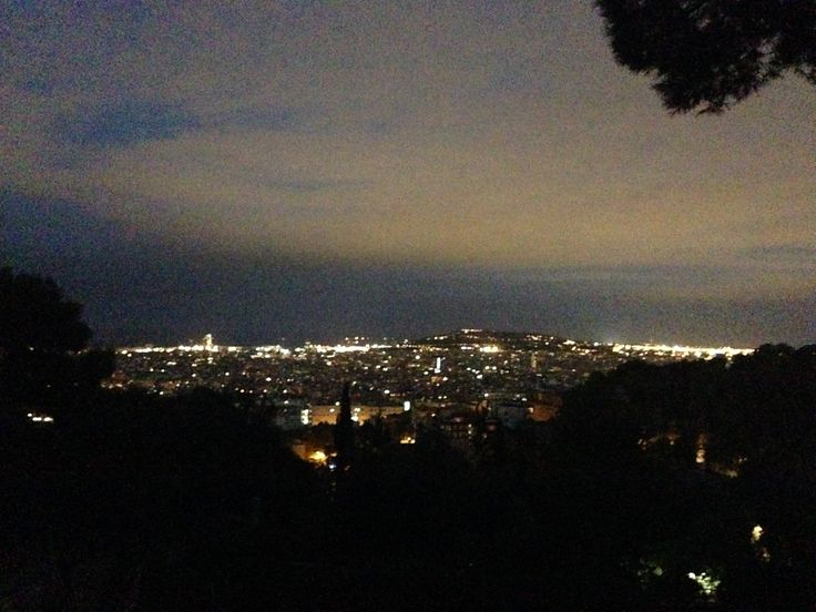 BCN by night from Parc Güell